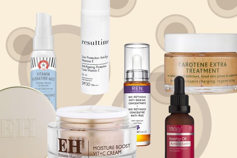 Skincare alle vitamine: creme, sieri e trattamenti per una pelle radiosa