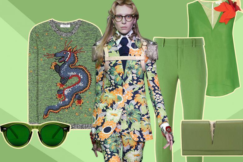 Greenery: un 2017 di verde vestite