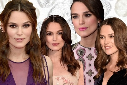 Keira Knightley beauty look: trucco nude e smokey eyes