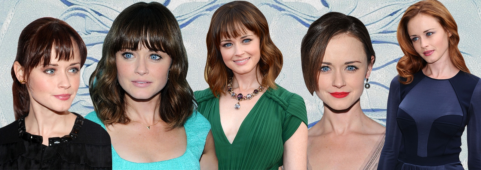 alexis bledel beauty look