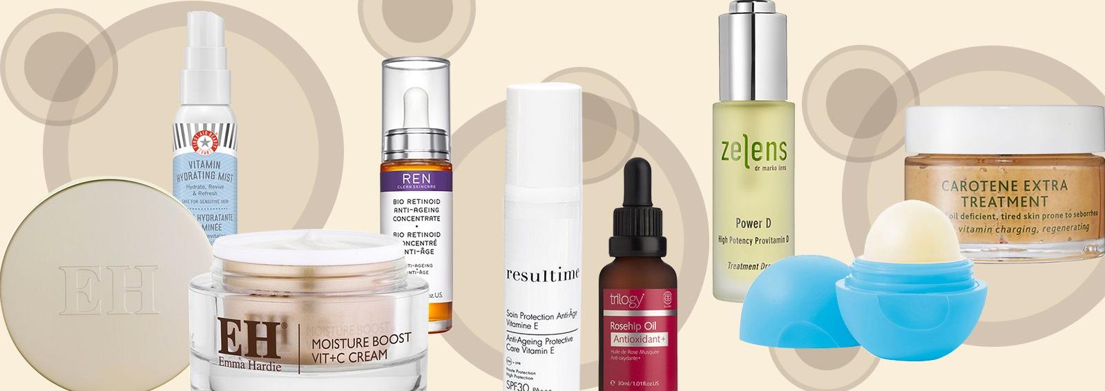 skincare alle vitamine i prodotti per una pelle radiosa