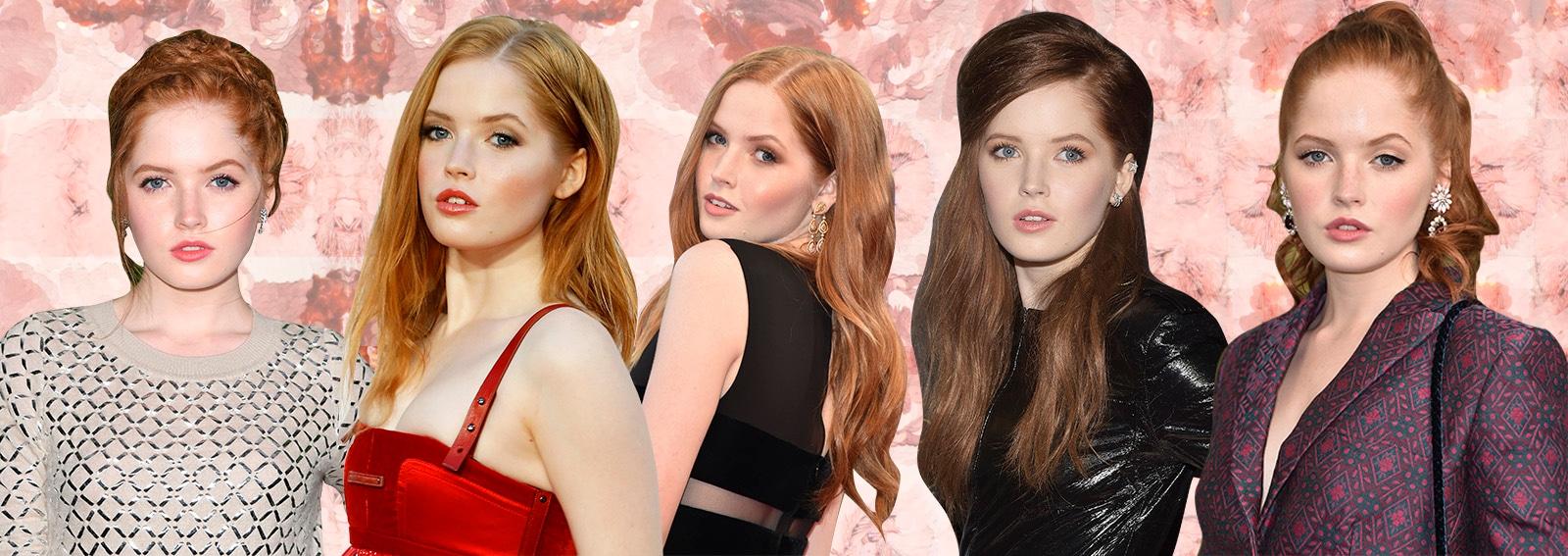 Ellie Bamber beauty look i migliori della musa di Tom Ford