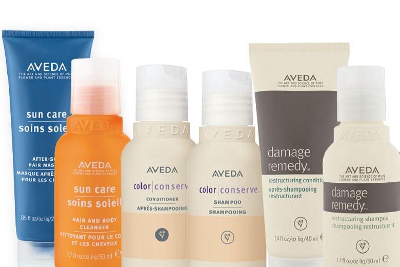 La bellezza è sempre con te con i prodotti travel size Aveda