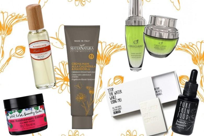 Cosmetici naturali: le creme viso, i sieri e i detergenti del momento