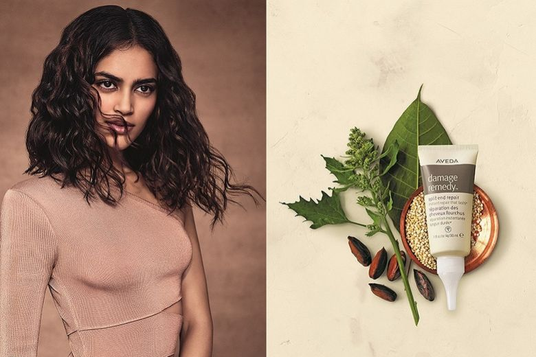 Doppie punte: come evitare di tagliarle grazie ad Aveda Damage Remedy Split End Repair