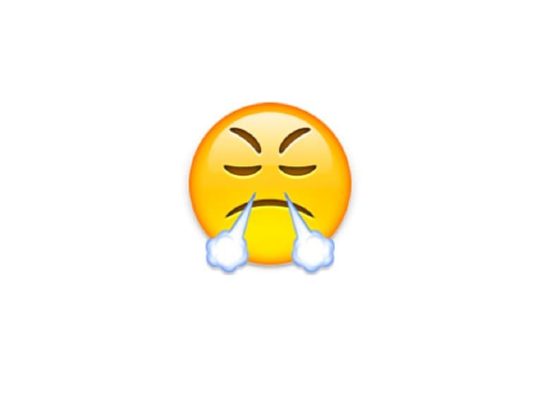 emoji fumo naso