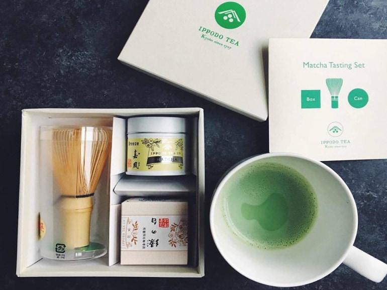 ippoto tè matcha tasting set