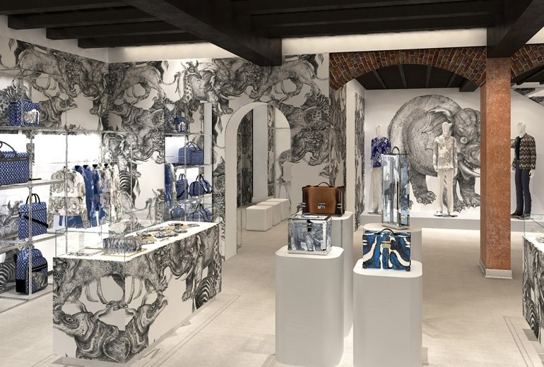 Louis Vuitton apre a Milano il primo pop up store per uomo in Italia