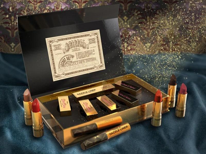 regali di natale dell'ultimo minuto nabla goldust luxuy box rossetti eyeliner