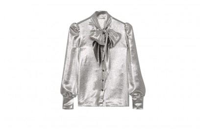 saint-laurent-camicia-argento