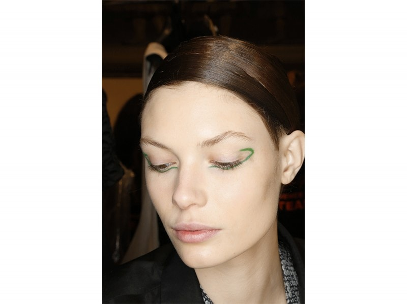 trucco greenery pantone make up (13)
