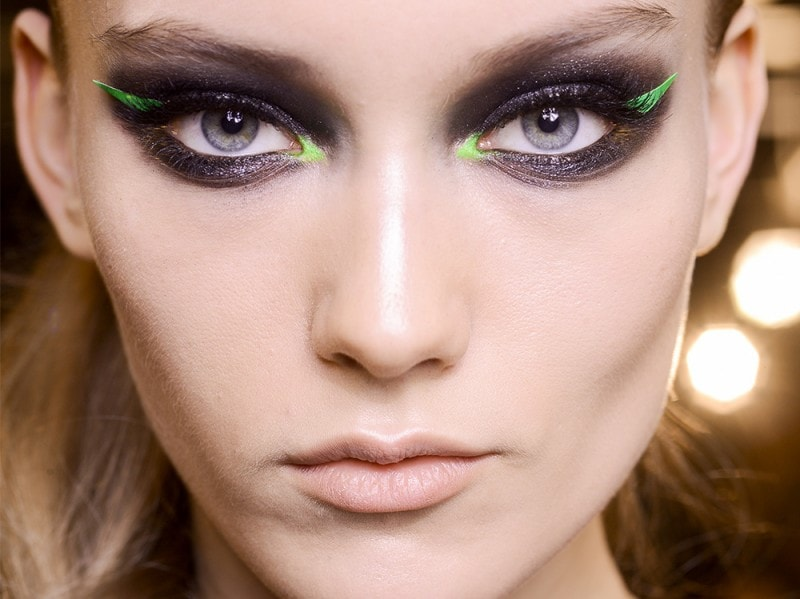trucco greenery pantone make up (3)