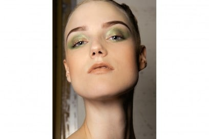 trucco greenery pantone make up (4)