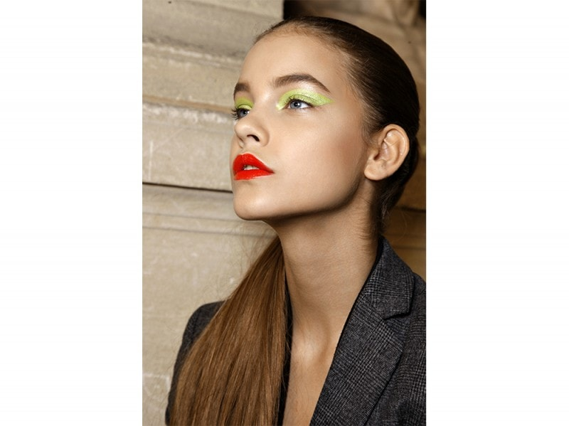 trucco greenery pantone make up (8)