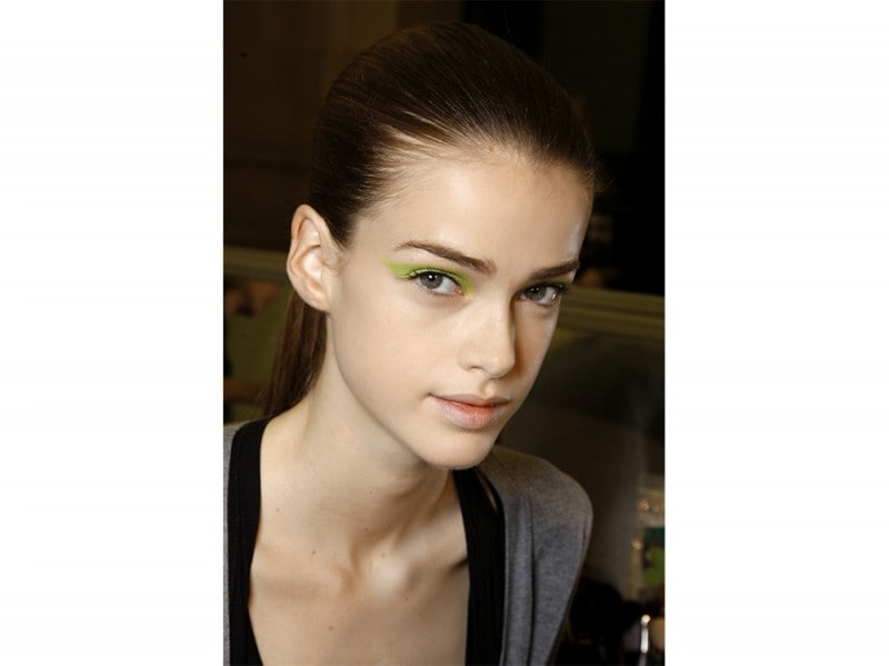 trucco greenery pantone make up (9)