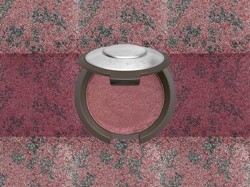trucco rosso brodeaux blush becca
