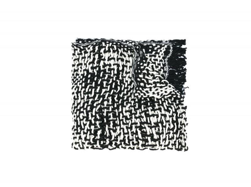 yohji-yamamamoto-sciarpa-bianco-nero