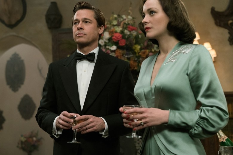 Allied: i look in stile anni '40 di Marion Cotillard e Brad Pitt