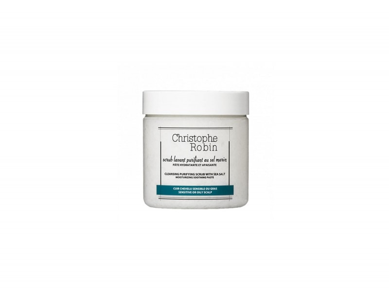 capelli grassi CHRISTOPHE Robin Cleansing purifying scrub sea salt