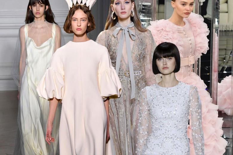 Gli abiti da sposa dalle sfilate Haute Couture 2017