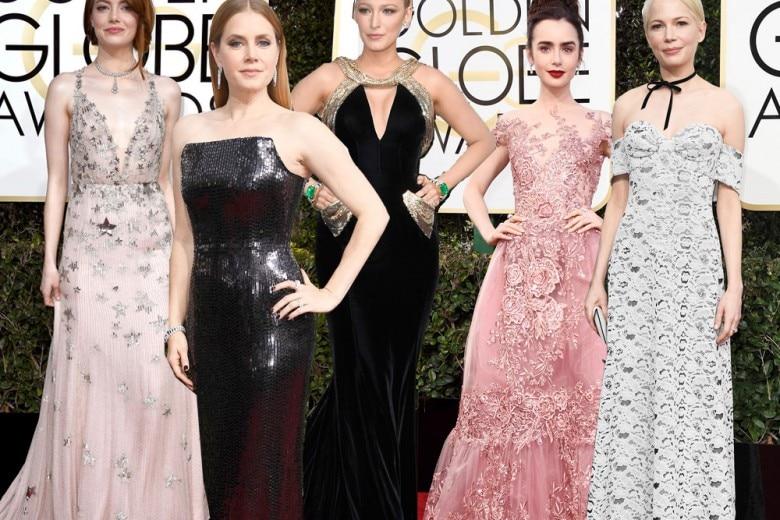 Golden Globes 2017: tutti gli abiti delle star