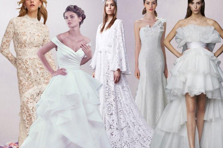 Abiti da sposa: le tendenze per il 2017