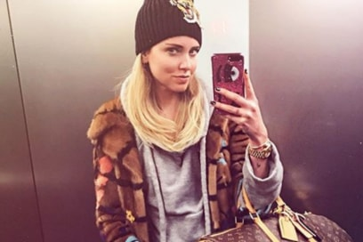 Chiara Ferragni Selfie Two is better