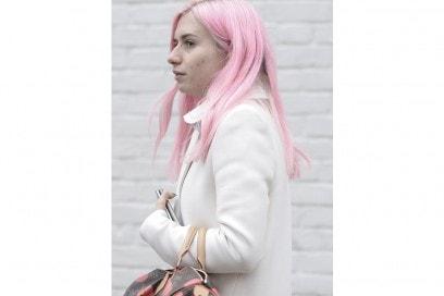 capelli rosa pastello street people