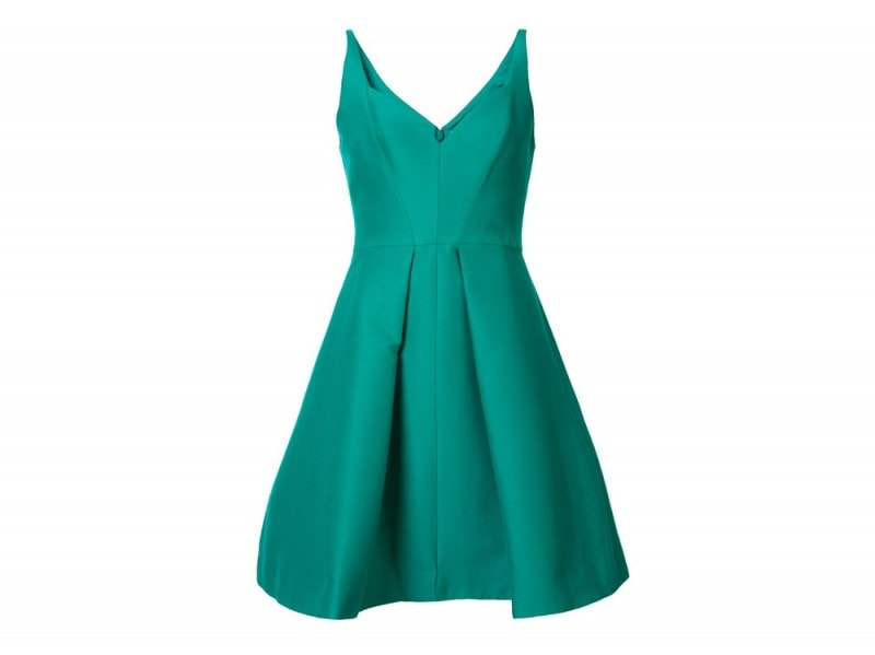 Dress-petrolio-Halston