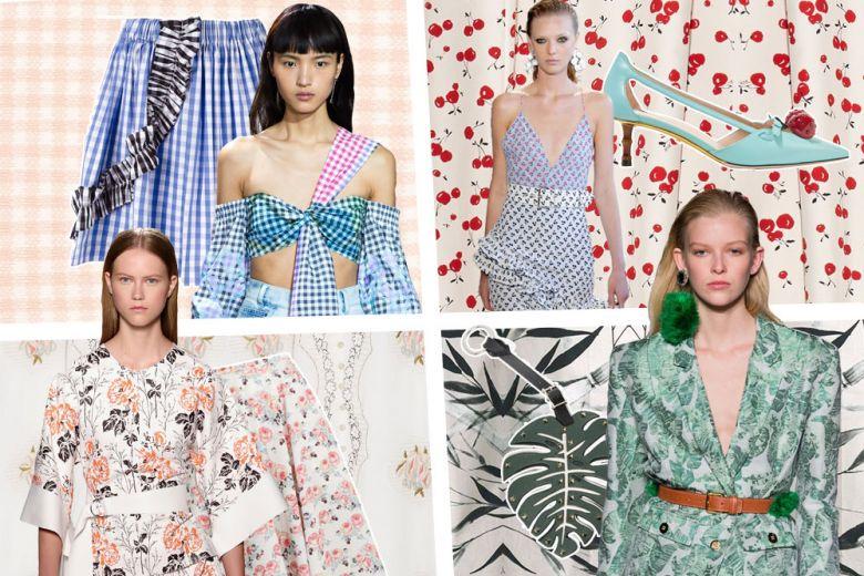 Stampe per la Primavera: 4 motivi glam da scegliere