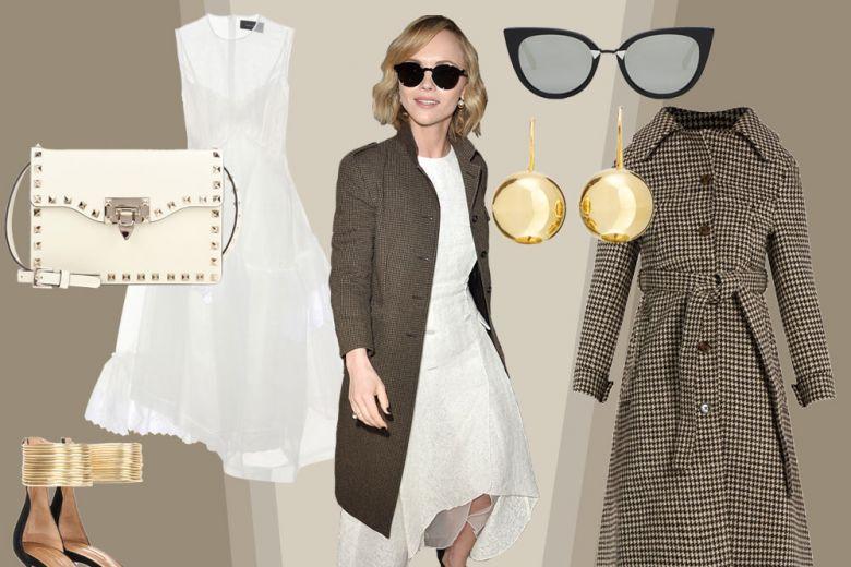 Il look sofisticato di Christina Ricci