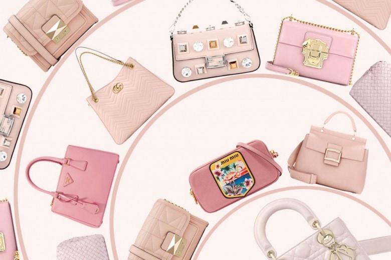Le borse per la primavera sono rosa