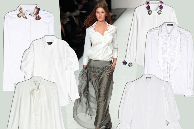 10 camicie bianche per la primavera