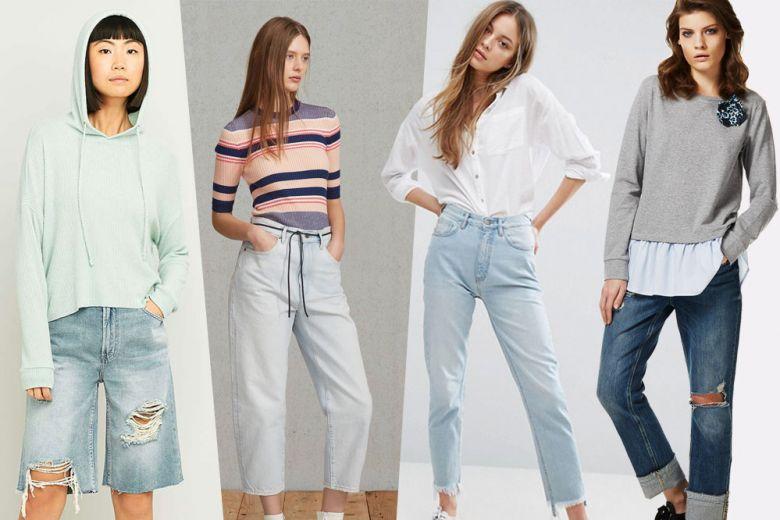 Jeans: i nuovi modelli per la Primavera-Estate 2017