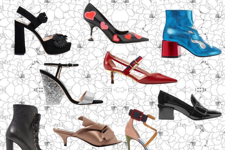 Scarpe con tacco: tutti i nuovi modelli più cool per la primavera