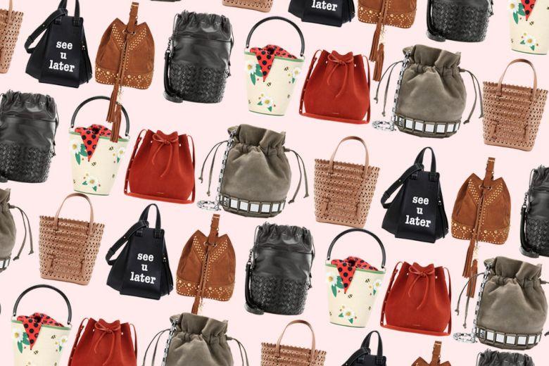 Le borse secchiello per la Primavera-Estate 2017