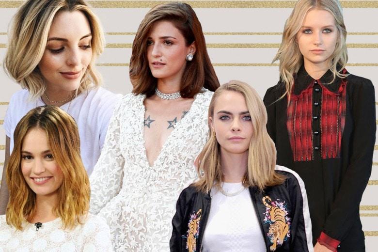 Tagli capelli medi 2017: i più cool del momento scelti dalle star