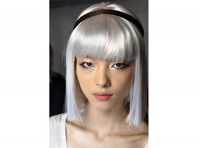 Ermanno Scervino capelli corti grigi