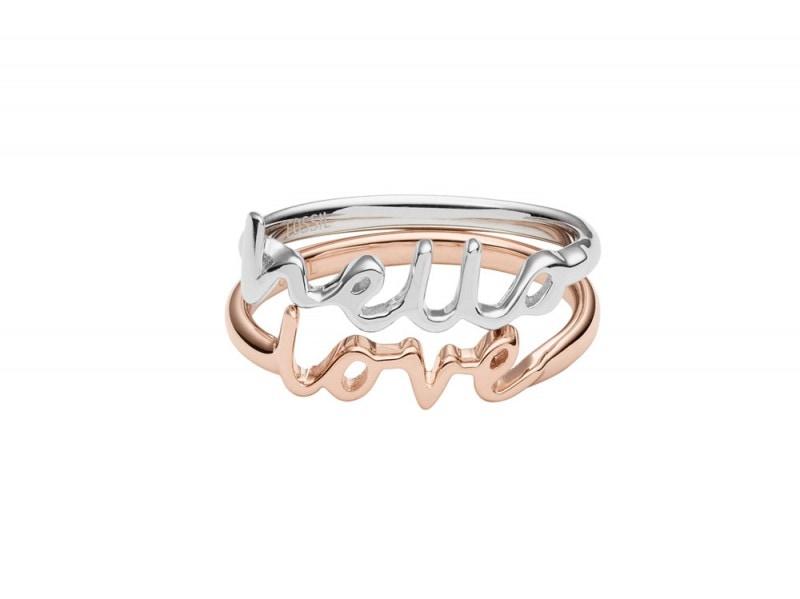 FOSSIL-anello
