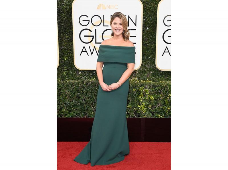 Jenna-Bush-Hager-Golden-globes-2017