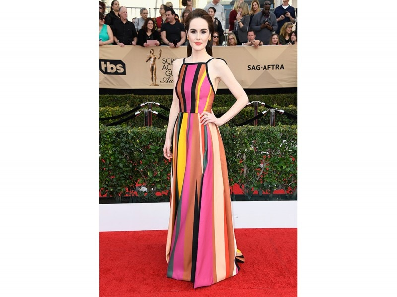 Michelle-Dockery-in-Elie-Saab