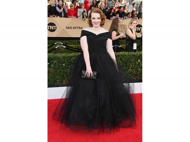 Shannon-Purser-in-Christian-Siriano-custom