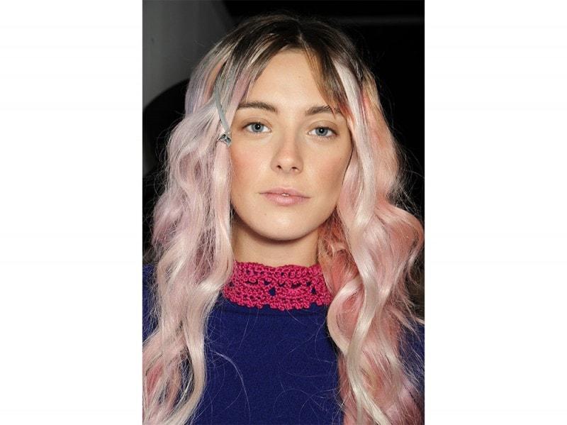 capelli rosa pastello Sibling