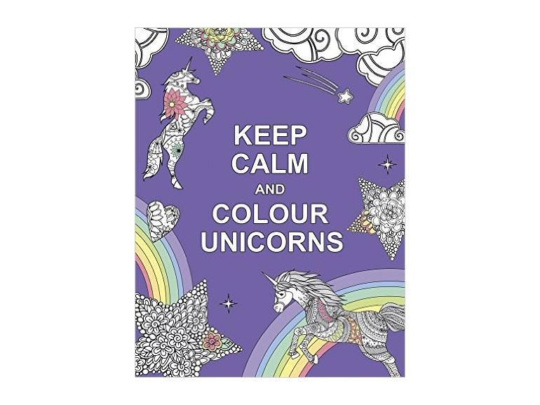 album colorare unicorni