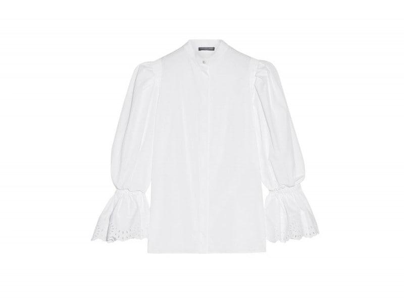 alexander-mcqueen-camicia-bianca-maniche-ampie