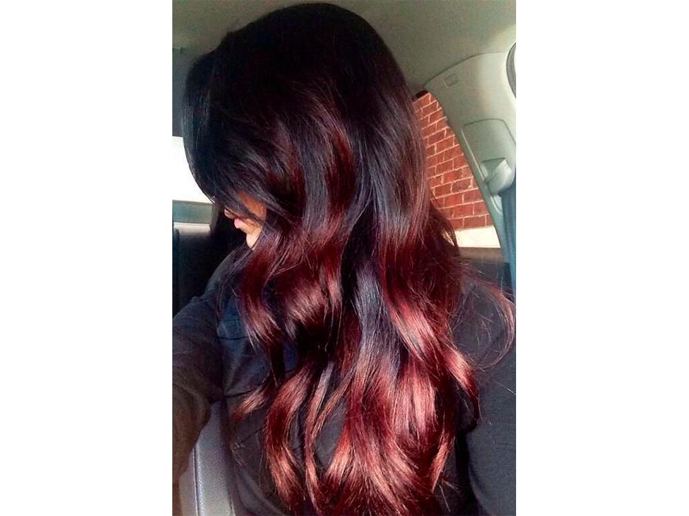 Cherry Bombre Hair La Tinta Rosso Sfumato Da Provare
