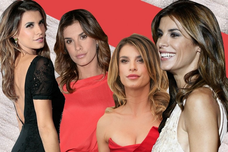 Elisabetta Canalis capelli: colore e le acconciature più belle