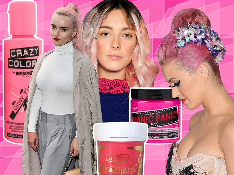capelli rosa pastello la tendenza è soft pink