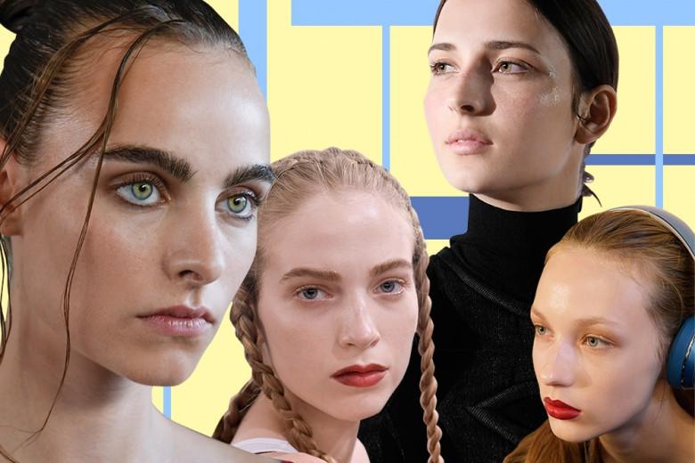 Viso luminoso e labbra opache: la tendenza make up del momento