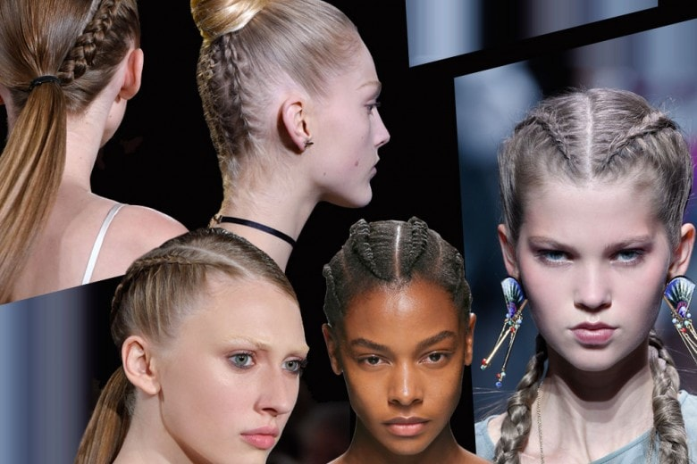 Trecce: le proposte capelli più cool per la Primavera-Estate 2017